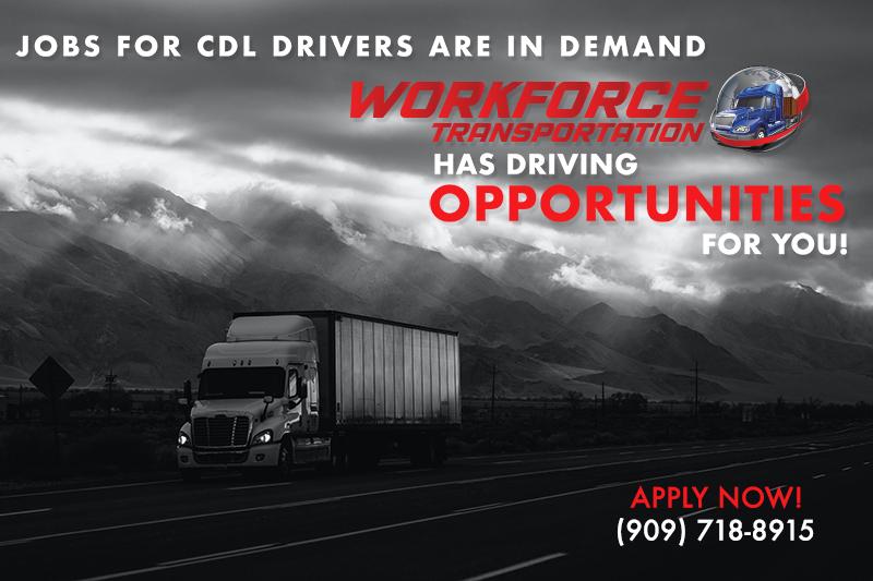Workforce Enterprises - Transportation Driving Opportunities